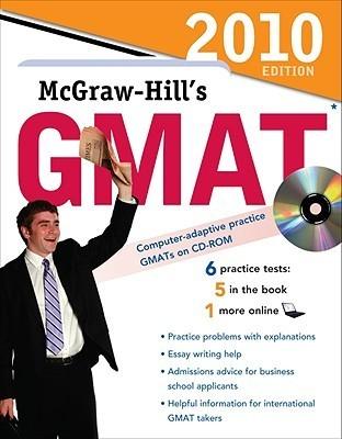 Mc Graw Hills Gmat With Cd Rom, 2010 Edition James Hasik