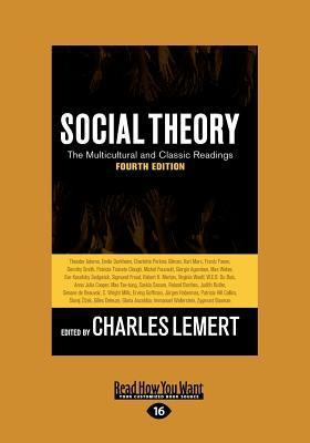 Social Theory  by  Charles Lemert