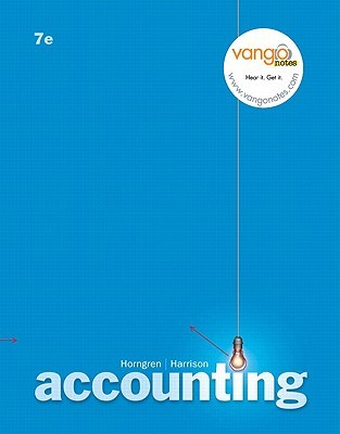 Accounting Value Pack (Includes Peachtree Complete 2007 CD & Blackboard Student Access Kitccounting)  by  Charles T. Horngren