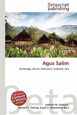 Agus Salim NOT A BOOK
