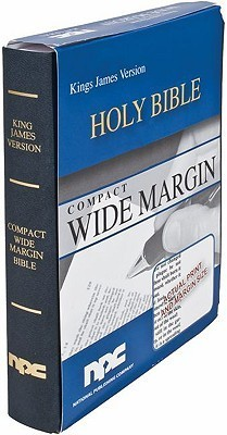 Compact Wide Margin Bible-KJV  by  National Publishing Company