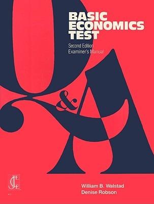 Basic Economics Test  by  William B. Walstad