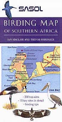Sasol Birding Map Of Southern Africa Ian Sinclair