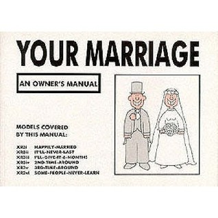 Your Marriage: An Owners Manual Martin Baxendale