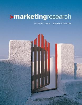 Marketing Research W/ Student DVD  by  Donald R. Cooper