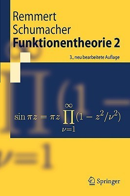 Funktionentheorie 2 (Springer Lehrbuch)  by  Reinhold Remmert
