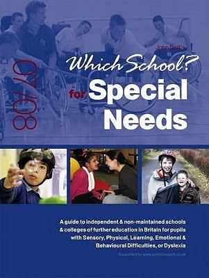 Which School? For Special Needs 2007/08 LIZZY BACON