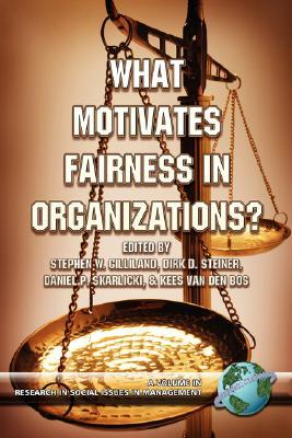 What Motivates Fairness in Organizations  by  Stephen W. Gilliland
