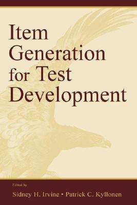 Item Generation for Test Develop.  by  Sidney H. Irvine