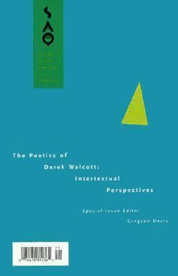 The Poetics of Derek Walcott: Intertextual Perspectives  by  Gregson Davis