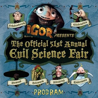 The Official 51st Annual Evil Science Fair Program (Igor 8x8)  by  Eliza Elliot