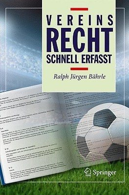 Vereinsrecht: Schnell Erfasst Ralph Jürgen Bährle