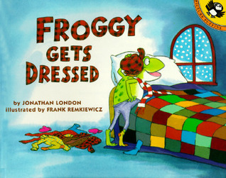 Froggys Playtime Activity Book with Sticker Jonathan London