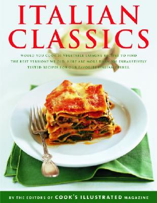 Italian Classics Cooks Illustrated Magazine