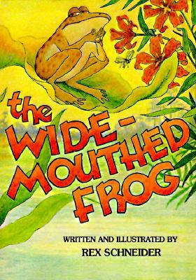 Wide-Mouthed Frog  by  Rex Schneider