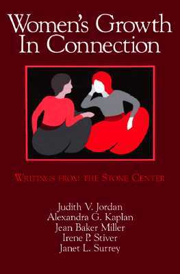 Power of Connection - Jordan: Recent Developments in Relational-Cultural Theory  by  Judith V. Jordan