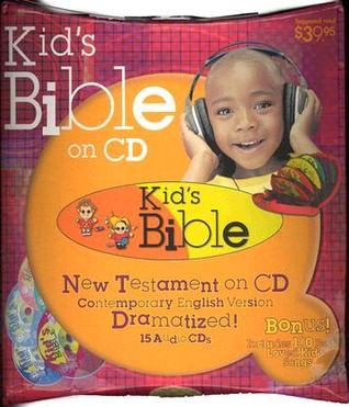 Kidss Bible on CD CEV Version Dramatized