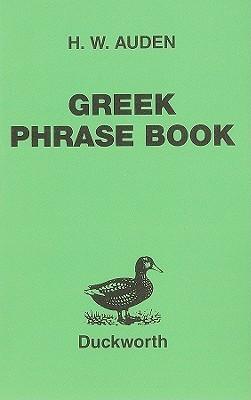 Greek Phrase Book Henry William Auden