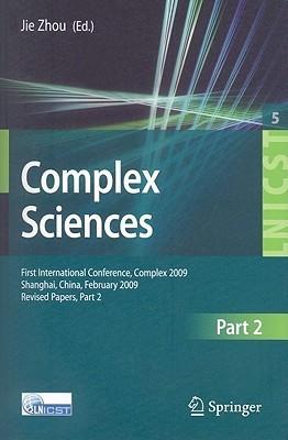 Complex Sciences, Part 2  by  Jie Zhou