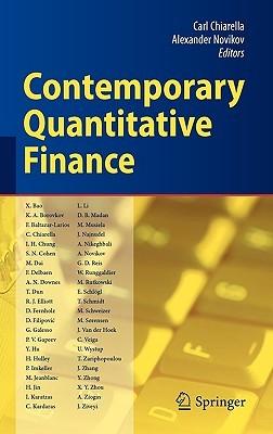 Contemporary Quantitative Finance: Essays In Honour Of Eckhard Platen  by  Carl Chiarella