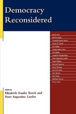 Democracy Reconsidered Elizabeth Busch