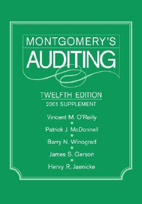 Montgomerys Auditing, 2001 Supplement  by  Vincent M. OReilly