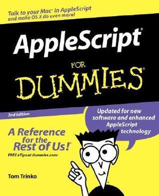 AppleScript for Dummies Tom Trinko