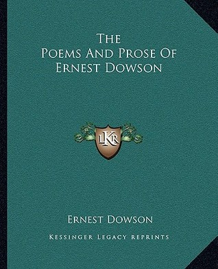 A Comedy of Masks  by  Ernest Dowson