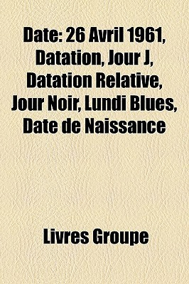 Date  by  Livres Groupe
