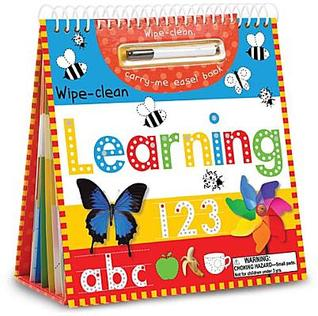 Wipe-Clean, Carry-Me Easel Book: Learning [With Marker] Charlotte Stratford