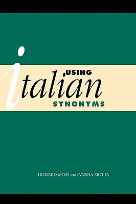 Using Italian Synonyms Vanna Motta