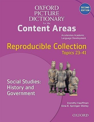 OPD for Content Areas 2e Repro Social Studies:History & Government  by  Dorothy Kauffman