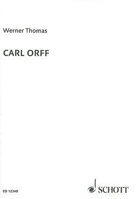 Carl Orff  by  Werner Thomas