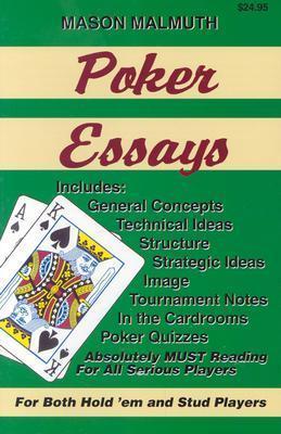 Poker Essays Mason Malmuth