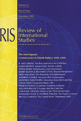 The Interregnum: Controversies In World Politics 1989 1999 Michael Cox