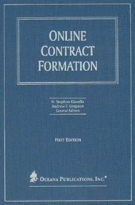 Online Contract Formation  by  N. Stephan Kinsella