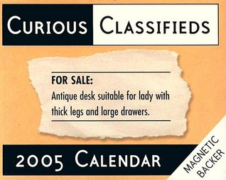 Curious Classified Ads: 2005 Mini Dtd  by  Magnetic Backer