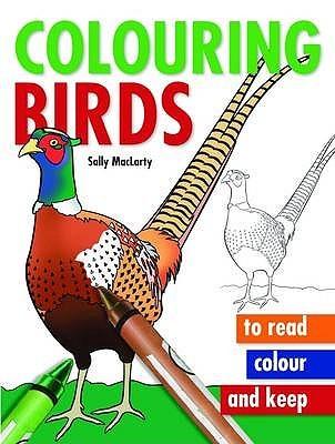 Colouring Birds Sally MacLarty
