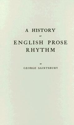 Historical Manual of English Prosody George Saintsbury