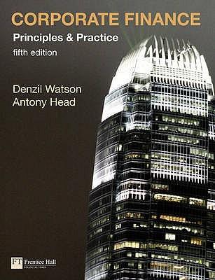 Corporate Finance Denzil Watson