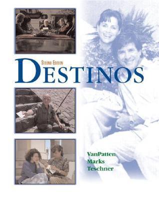 Destinos Student Edition W/Listening Comprehension Audio CD Bill VanPatten