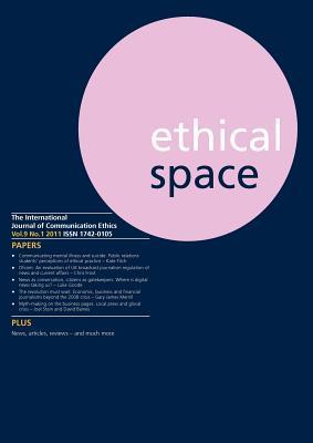 Ethical Space Vol.9 Issue 1 Richard Keeble