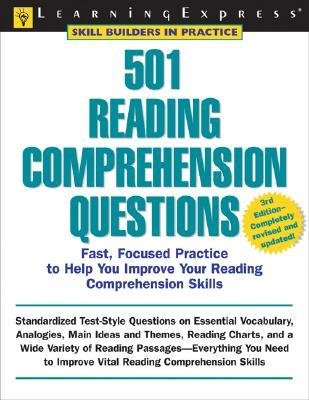 501 Reading Comprehension Questions  by  Learning Express LLC
