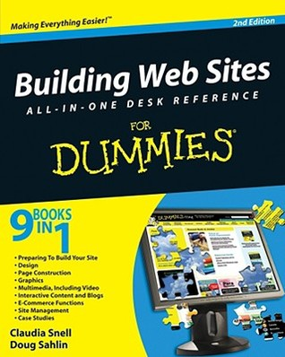 Building Web Sites All-In-One Desk Reference for Dummies Claudia Snell