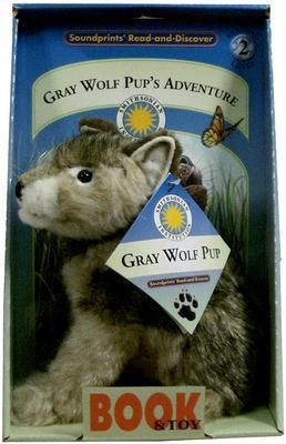 Gray Wolf Pups Adventure: Reading Level 2 [With Plush Wolf] Stephanie Smith