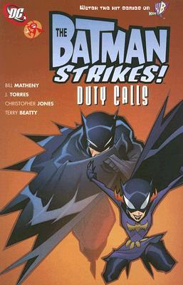 The Batman Strikes #13  by  Bill Matheny