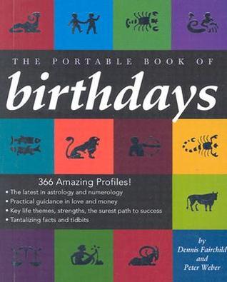The Portable Book of Birthdays  by  Dennis Fairchild