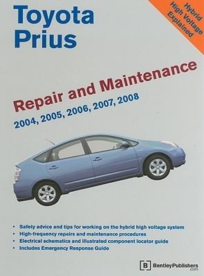 Toyota Prius Repair and Maintenance Manual Bentley Publishers