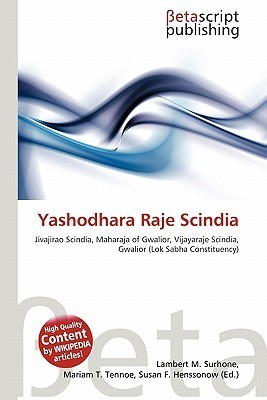 Yashodhara Raje Scindia  by  NOT A BOOK