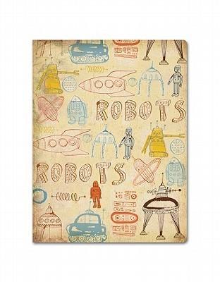 Robot Doodle Deconstructed Medium Journal  by  Orange Circle Studio